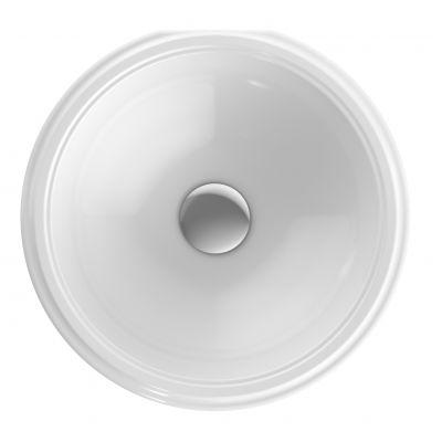 Koło Variform umywalka 33 cm podblatowa okrągła biała 500.746.01.6
