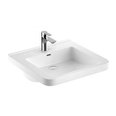 Koło Nova Pro Premium Bez Barier umywalka 55x52 cm prostokątna biała 501.568.01.1