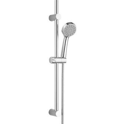 Kuchinox Cento zestaw prysznicowy z drążkiem chrom NKC01A1