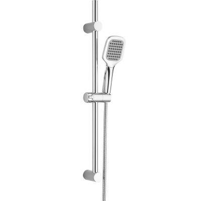 Kuchinox Borgo zestaw prysznicowy z drążkiem chrom NKG01A1