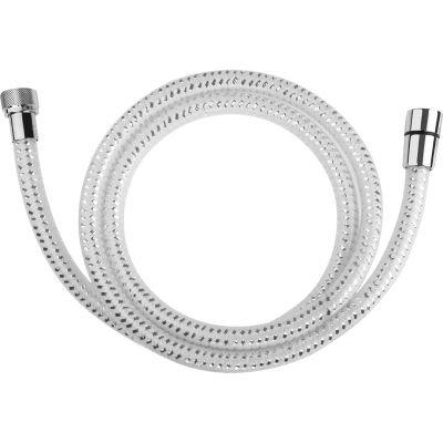 Laveo Goma wąż prysznicowy 150 cm biały/chrom CRG64PD