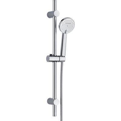 Laveo Leste zestaw prysznicowy ścienny chrom NLL01A0