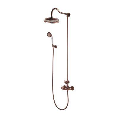 Omnires Armance zestaw prysznicowy termostatyczny miedź antyczna AM5244/6ORB