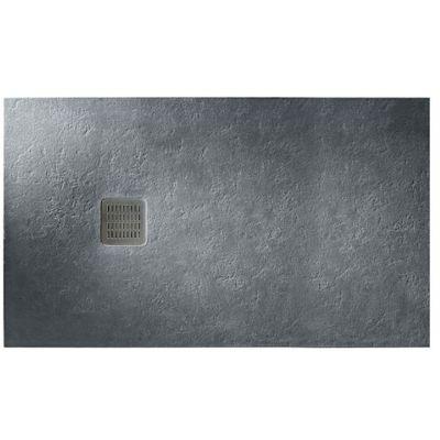 Roca Terran brodzik prostokątny 120x90 cm kompozyt Stonex szary łupek AP014B038401200