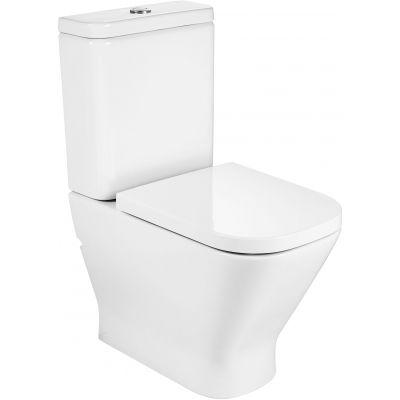 Roca Gap miska WC Rimless kompaktowa biała A34273700H