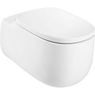 Roca Beyond miska WC wisząca Rimless Maxi Clean biała A3460B700M