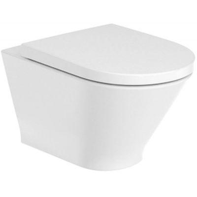 Roca Gap Round miska WC wisząca Rimless biała A3460NL000