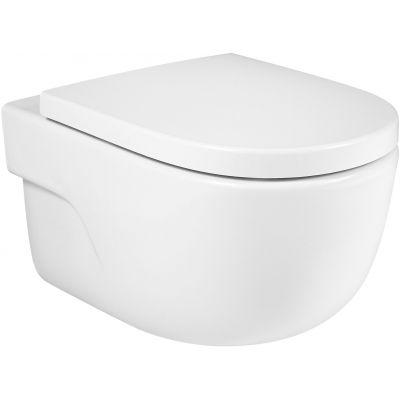 Roca Meridian miska WC wisząca Rimless biała A34624L000