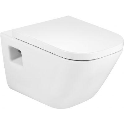 Roca Gap Square miska WC wisząca biała A346477000