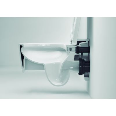 Roca Gap miska WC wisząca Square Rimless biała A34647L000