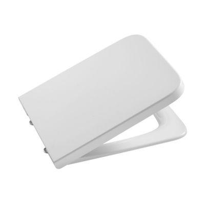 Roca Inspira Square deska sedesowa wolnoopadająca Supralit® biała A80153200B