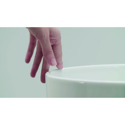 Roca Inspira Soft umywalka 50x37 cm nablatowa biała A327500000