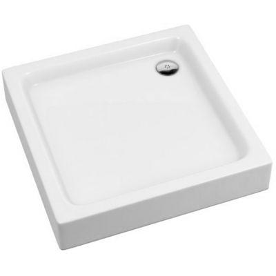 Schedpol Grando Plus brodzik 80 cm kwadratowy biały 3.0124/K
