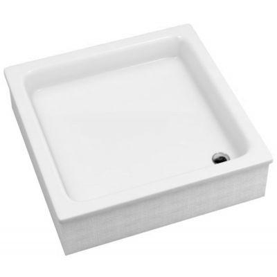 Schedpol Grawello brodzik 90 cm kwadratowy biały 3.012/K