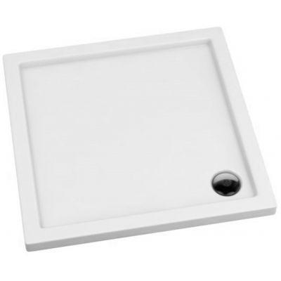 Schedpol Corrina brodzik kwadratowy 90x90 cm biały 3.061