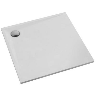 Schedpol Etrusco brodzik kwadratowy 80x80 cm biały 3.460