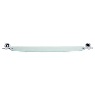 Tesa Loxx półka 70 cm bez wiercenia szkło/chrom 40283