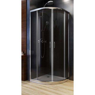 Aquaform Nigra kabina prysznicowa 80 cm półokrągła 100-40065