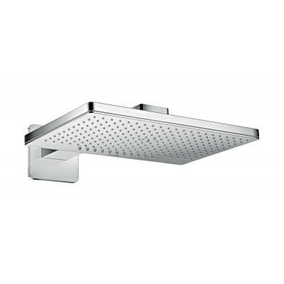 Axor ShowerSolutions deszczownica 46,6x30 cm prostokątna z ramieniem ściennym chrom 35275000