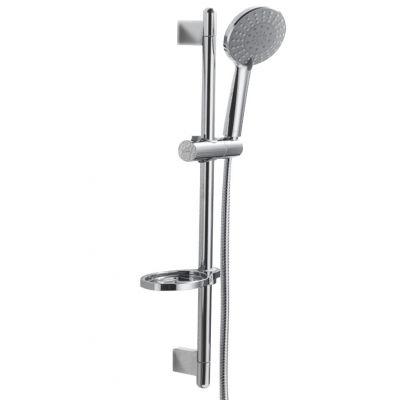 Bravat zestaw prysznicowy ścienny chrom D152CP-2A-PL