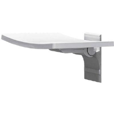 Besco Active siedzisko przysznicowe 32x37 cm uchylne białe SPA