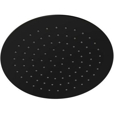 Corsan Lugo deszczownica 25 cm okrągła czarna CMDO25LUGOCZARNA
