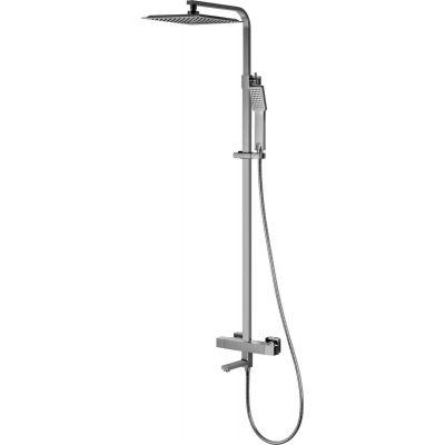 Corsan Ango zestaw prysznicowy termostatyczny z deszczownicą chrom CMN021ANGO