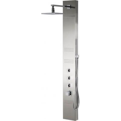 Corsan Neo panel prysznicowy termostatyczny ścienny chrom S060TNEO