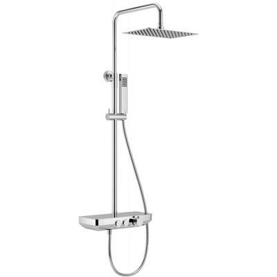Excellent Krotos zestaw prysznicowy ścienny chrom AREX.8080CR