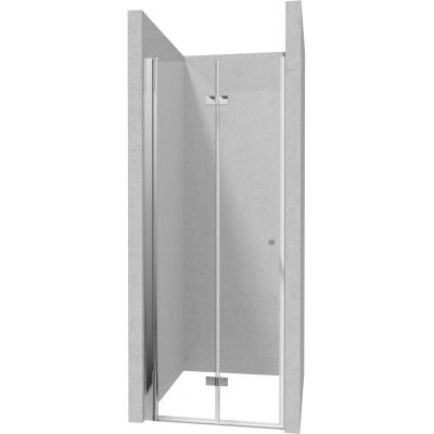 Deante Kerria Plus drzwi prysznicowe 100 cm chrom/szkło przezroczyste KTSX043P