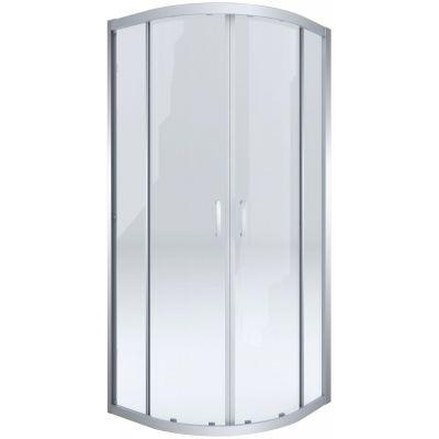 Deante Cito kabina prysznicowa 80 cm półokrągła chrom/szkło przezroczyste KQC052P