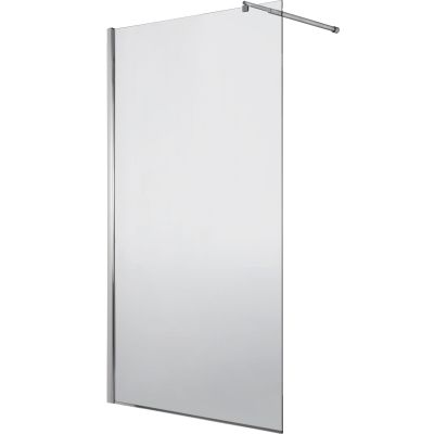 Deante Abelia Walk-In ścianka prysznicowa 140 cm wolnostojąca chrom/szkło przezroczyste KTA034P