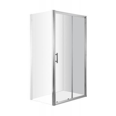 Deante Cynia drzwi prysznicowe 120 cm wnękowe KTC012P