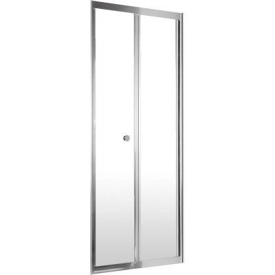 Deante Flex drzwi prysznicowe 90 cm wnękowe szkło transparentne KTL021D