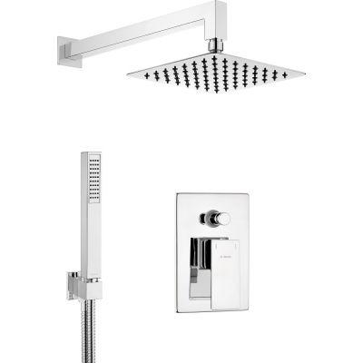 Deante Anemon zestaw prysznicowy podtynkowy chrom NAC09AP