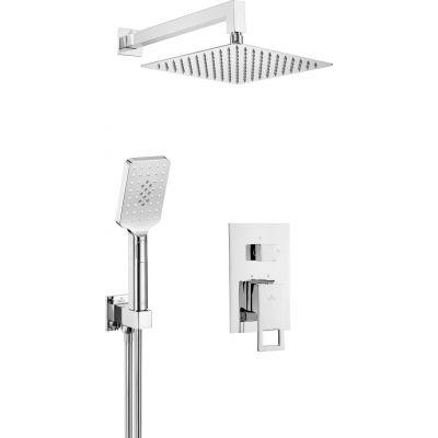 Deante Anemon zestaw prysznicowy podtynkowy chrom NAC09MP