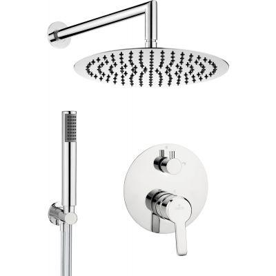 Deante Arnika zestaw prysznicowy podtynkowy chrom NAC09QP
