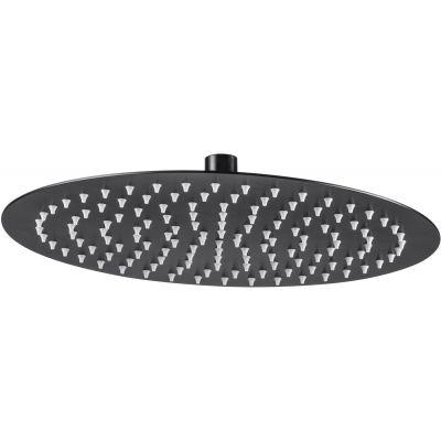 Deante Floks deszczownica 30 cm okrągła czarny mat NAC203K