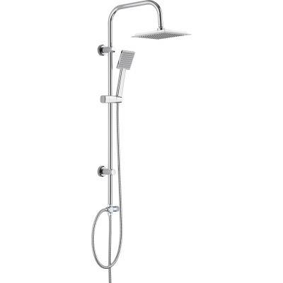 Deante Neo Joko zestaw prysznicowy ścienny chrom NBJ051K