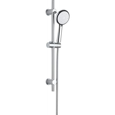 Deante Neo Boro zestaw prysznicowy ścienny chrom NER051K