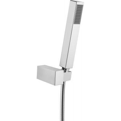 Deante Square zestaw prysznicowy 1-punktowy chrom NOQ041K