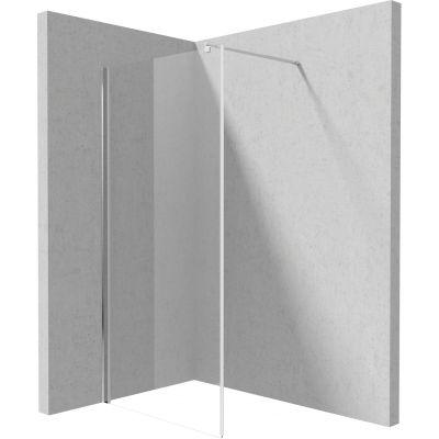 Deante Kerria Plus ścianka prysznicowa 80 cm Walk-In szkło przezroczyste KTS038P