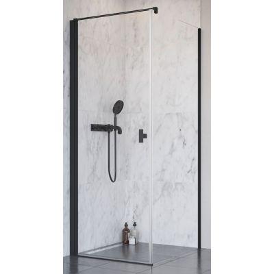 Radaway Nes Black KDJ I drzwi prysznicowe 100 cm lewe szkło przezroczyste 10022100-54-01L