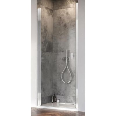 Radaway Nes DWJ I drzwi prysznicowe 90 cm wnękowe lewe szkło przezroczyste 10026090-01-01L
