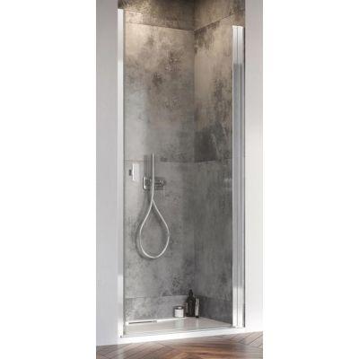 Radaway Nes DWJ I drzwi prysznicowe 100 cm wnękowe prawe chrom/szkło przezroczyste 10026100-01-01R