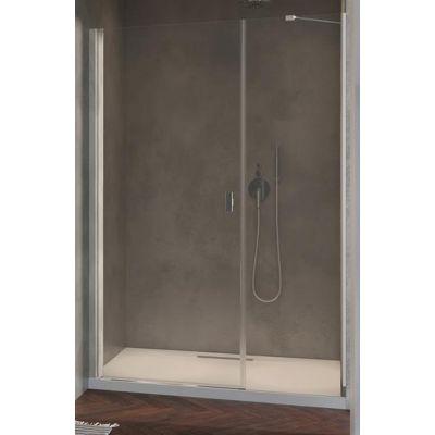 Radaway Nes DWS drzwi prysznicowe 140 cm wnękowe lewe szkło przezroczyste 10028140-01-01L