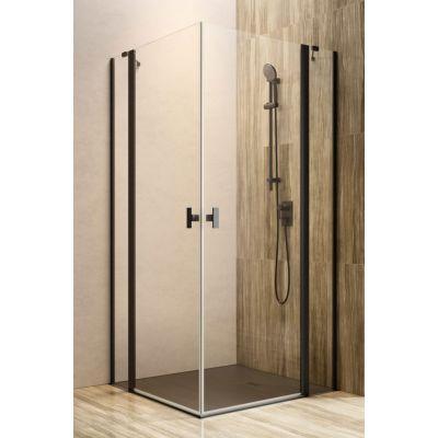 Radaway Nes KDD II drzwi prysznicowe 100 cm lewe czarne/szkło przezroczyste 10031100-54-01L
