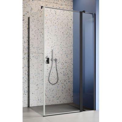 Radaway Nes Black KDJ II drzwi prysznicowe 110 cm prawe czarny/szkło przezroczyste 10032110-54-01R