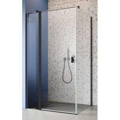 Radaway Nes Black KDJ II drzwi prysznicowe 110 cm lewe szkło przezroczyste 10032110-54-01L