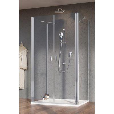 Radaway Nes DWD+2S drzwi prysznicowe 90 cm profile chrom/szkło przejrzyste 10035090-01-01